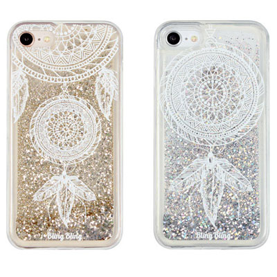 GLITTER WHITE LINE DREAMCATCHER CASE(2color)