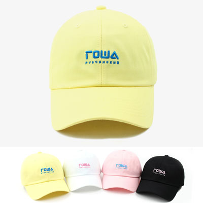 [UNISEX] MINI LOGO EMBROIDERY BALL CAP(4color)