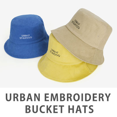 [UNISEX] URBAN BUCKET HAT(5color)