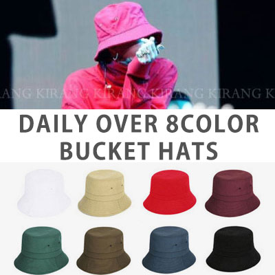 bigbang/gd/gdragon st. DAILY OVER BUCKET HAT (8color)
