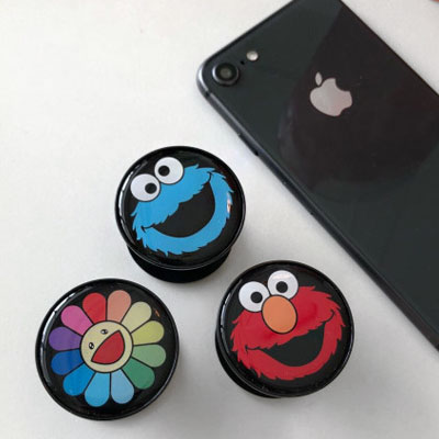 FLOWER ELMO GRIP TOK(3type)