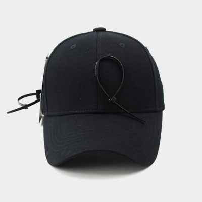[UNISEX] CABLE TIE POINT BALL CAP(2color)