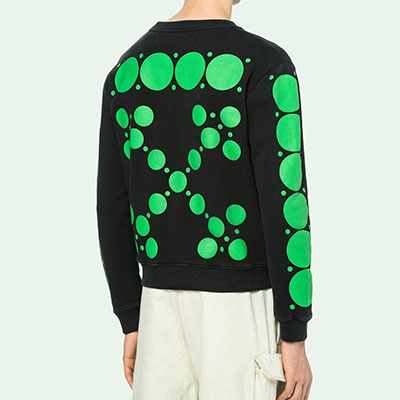 [UNISEX] GREEN BUBBLE ARROW SWEATSHIRTS