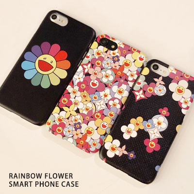 RAINBOW FLOWER SMARTPHONE CASE(3type)