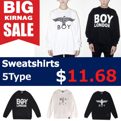 [65%OFF]★DAY SHIPPING★  G-DRAGON, Girls, EXO,  K-POP IDOLS STYLE SWEATSHIRTS  $11.67