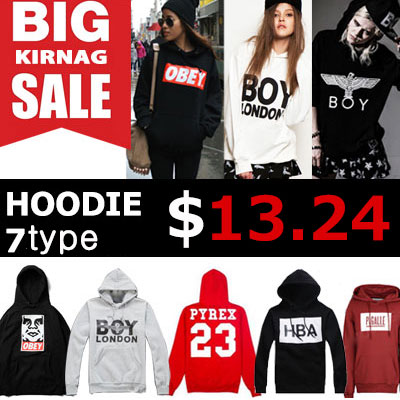 [65%OFF]★DAY SHIPPING★ G-DRAGON, Girls, EXO, such as K-POP IDOL wear hoodies