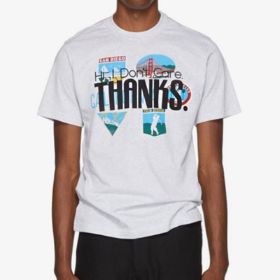 [UNISEX] THANKS LOGO POINT SHORT SLEEVE TSHIRTS