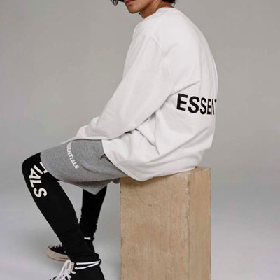 [UNISEX] ESSENTIAL LOGO LONG SLEEVE TSHIRTS (3color)