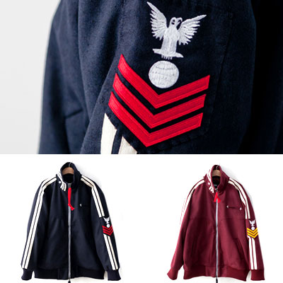 [UNISEX] EAGLE ARM PATCH POINT JUMPER (2color 2size)