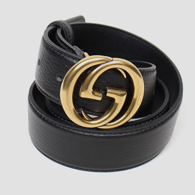 [UNISEX] G RIVERSIBLE LEATHER BELT (2size)