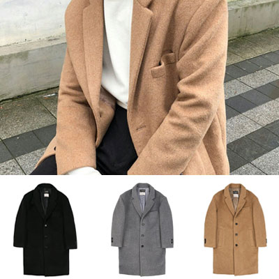 CHIC MOOD WOOL COAT(3color)
