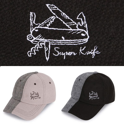 [UNISEX] SWISS ARMY KNIFE EMBROIDERY BALL CAP(2color)