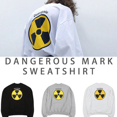 [UNISEX] DANGEROUS MARK SWEATSHIRTS(3color)