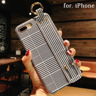 GLEN CHECK CASE for iPhone