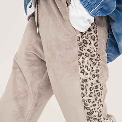 【SETUP-EXE】Leopard Pants - Grey