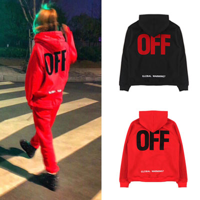 [UNSEX] SIDE LOGO POINT ZIPUP HOODIE(2color)