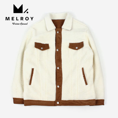 【MELROY】 CORDUROY FLEECE JACKET (2color)