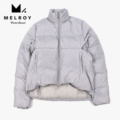 【MELROY】C CUT UNBALANCE SHORT JACKET (2color)