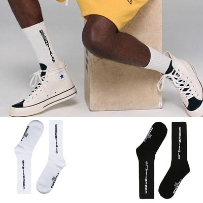 [UNISEX] ESSENTIAL LOGO SOCKS (2color)