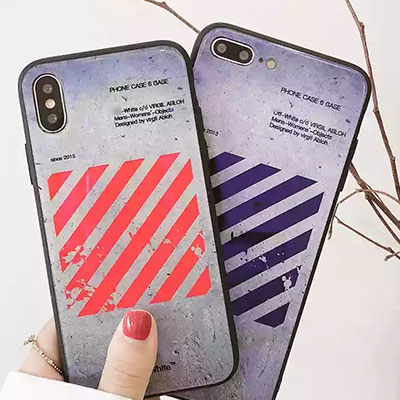 VINTAGE WALL DIAGONAL PRINT CASE (2color)