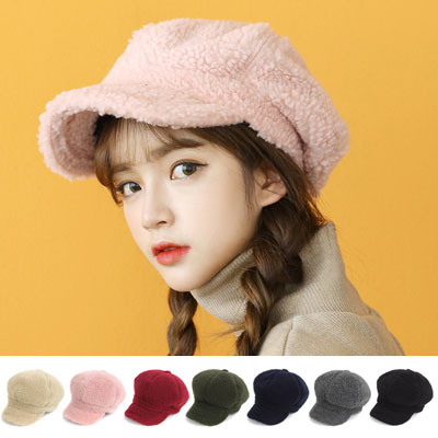 [UNISEX] FLEECE HUNTING CAP(7color)