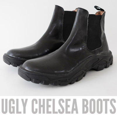 [25.5 ~ 27.5cm] UGLY CHELSEA BOOTS