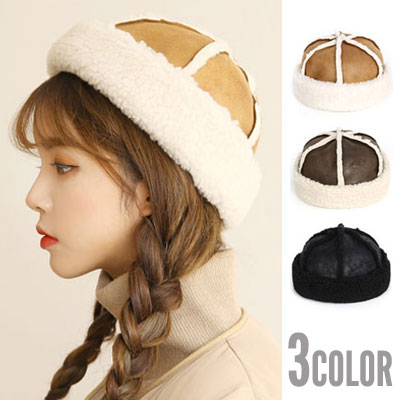 [UNISEX] MOUTON WATCH CAP(3color)