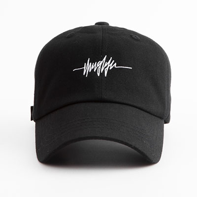 【FLIPPER】BIG THUG LINE BALL CAP -black