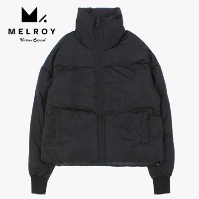 【MELROY】SHORT DOWN JACKET -black