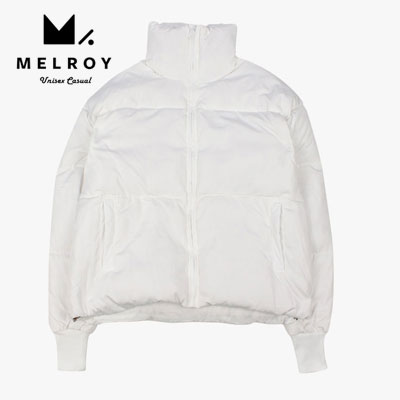 【MELROY】SHORT DOWN JACKET  -white