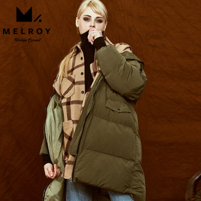 [Special Price] 【MELROY】CUSHIONY SLIDE DOUN JACKET (2color)