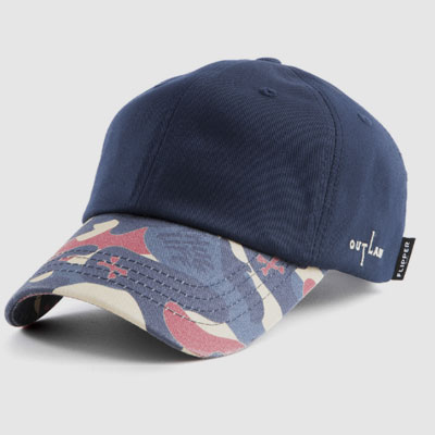 【FLIPPER】BIG THUG MILITARY BALL CAP-navy