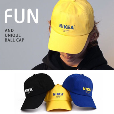 [UNISEX] IKEA BALL CAP (3color)