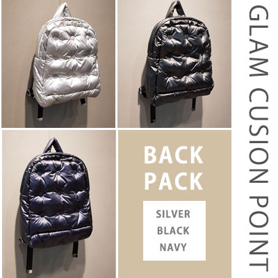 GLAM CUSION POINT BACKPACK (3color)