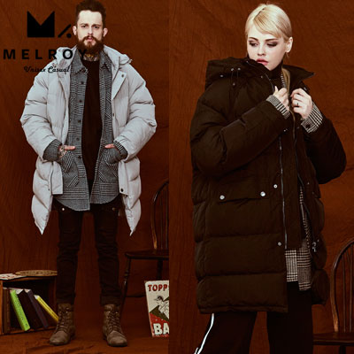 【MELROY】 BAISIC LONG DOWN JACKET (2color)