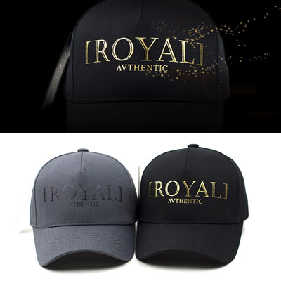 [UNISEX] BIG ROYAL BALL CAP(2color)