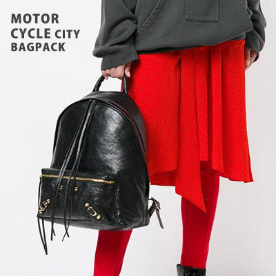 MOTORCYCLE CITY BACKPACK(2color)