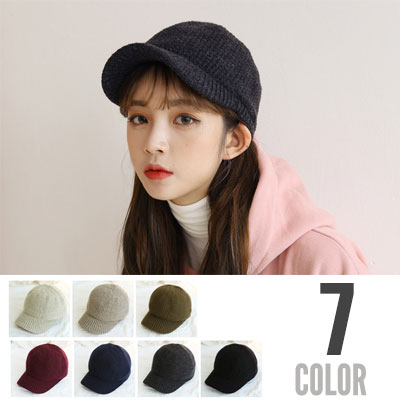 [UNISEX] SQUARE POP KNIT CAP(7color)