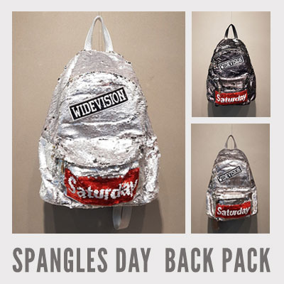 SPANGLES DAY BACKPACK (3color)