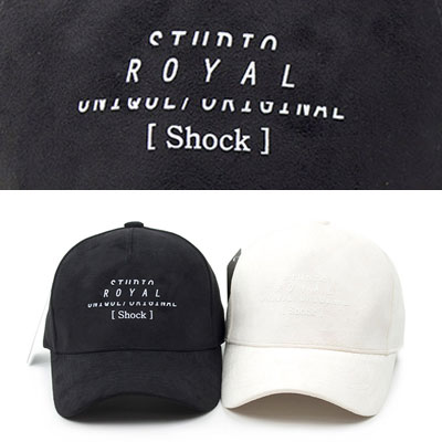 [UNISEX] ROYAL SHOCK BALL CAP (2color)
