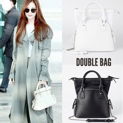 Will be in stock: End of February[M-size] seohyun st.DOUBLE BAG st.TOTE BAG & SHOULDER BAG (2color)