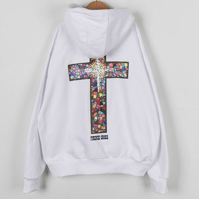 [UNISEX] FIRENZE CROSS PULLOVER HOODIE(2color)