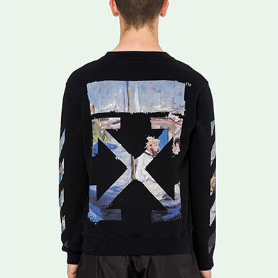 [UNISEX] PAINTING ARROW SWEATSHIRTS (2color)