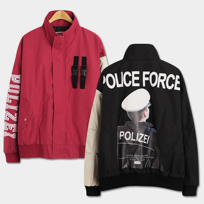 [UNISEX] POLIZEI FORCE JUMPER (2color)