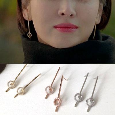 K-drama 'Encounter' Song Hyekyo st. STICK CIRCLE PIERCE (3color)