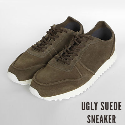 [25.0 ~ 28.0cm] UGLY SUEDE SNEAKER (2color)