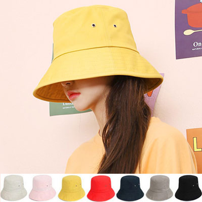 COTTON DEEP BUCKET HAT/GD/G-DRAGON/BIGBANG/fxxk it