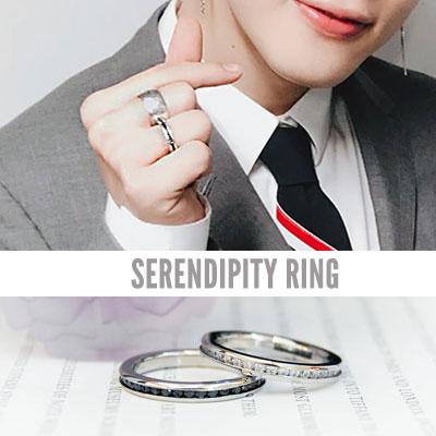 BTS/Jimin st. SERENDIPITY RING (2color 8size)
