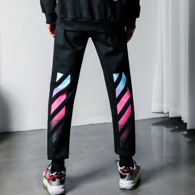 [UNISEX] GRADATION ARROW JOGGER PANTS