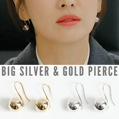 K-drama 'Encounter' Song Hyekyo st. SPHERE EARRING (3color 2type)